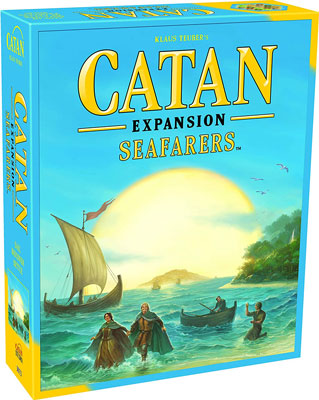 2. Catan Studio the Seafarers Expansion