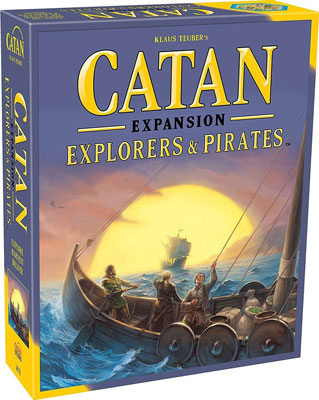 4. Catan Studio the Explorers & Pirates Expansion