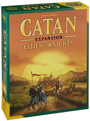 3. Catan Studio the Cities & Knights Expansion