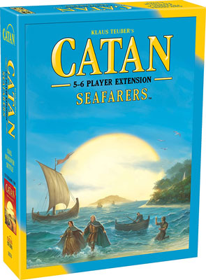 5. Catan Studio the Seafarers Extension for 5-6 Players