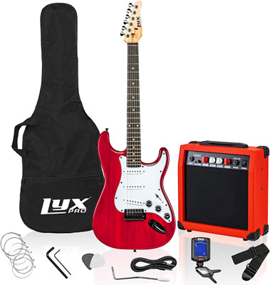 9. LyxPro Electric Guitar 39