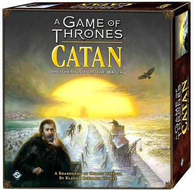 6. Fantasy Flight Games the Game of Thrones Brotherhood of the Watch Catan