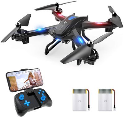 5. SNAPTAIN S5C WiFi FPV Drone with 720P HD Camera