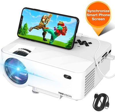 1. TOPVISION Projector with Synchronize Smart Phone Screen