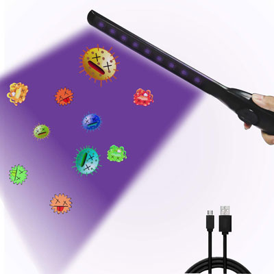 8. Shootingstar UV Light Sanitizer Wand with USB Charge