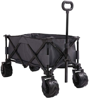 7. Patio Watcher Collapsible Folding Utility Wagon