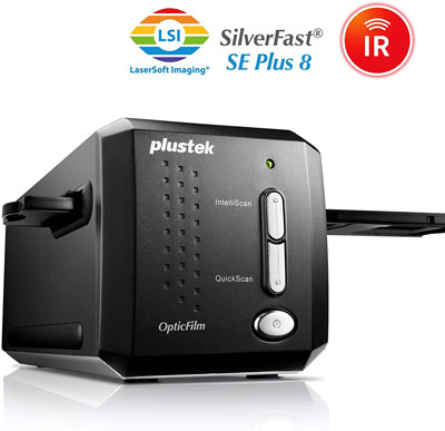 6. Plustek 35mm Film & Slide Scanner – OpticFilm 8200i SE