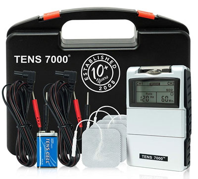 1. TENS 7000 Digital TENS Unit with Accessories (2nd Edition)