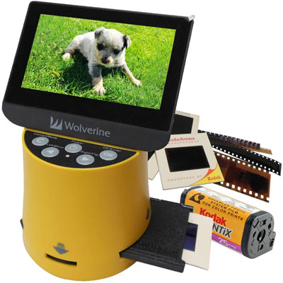 2. Wolverine 8-in-1 Film to Digital Converter – Titan