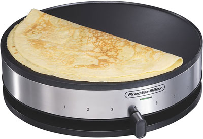 4. Proctor Silex Electric Crepe Maker, 38400