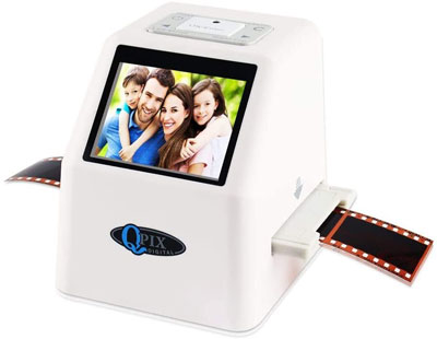 10. QPIX DIGITAL 22MP Film Negative Scanner – White