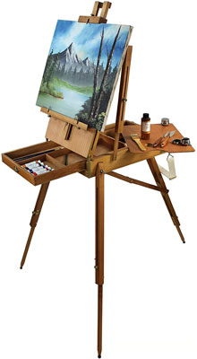 3. French Easels Artist Quality Portable Art Easel