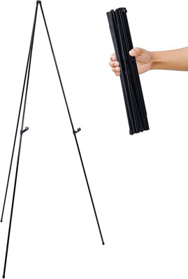 "2. U.S. Art Supply 63"" Easy Folding Display Easel"