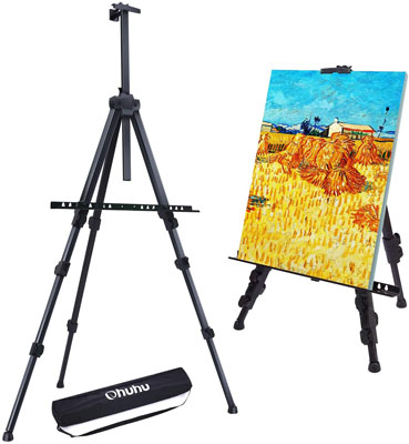 "4. Ohuhu 72"" Artist Easel Stand for Display with Bag"