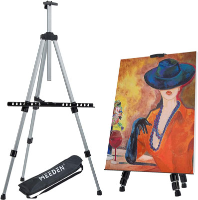 7. MEEDEN Reinforced Display Easel Stand